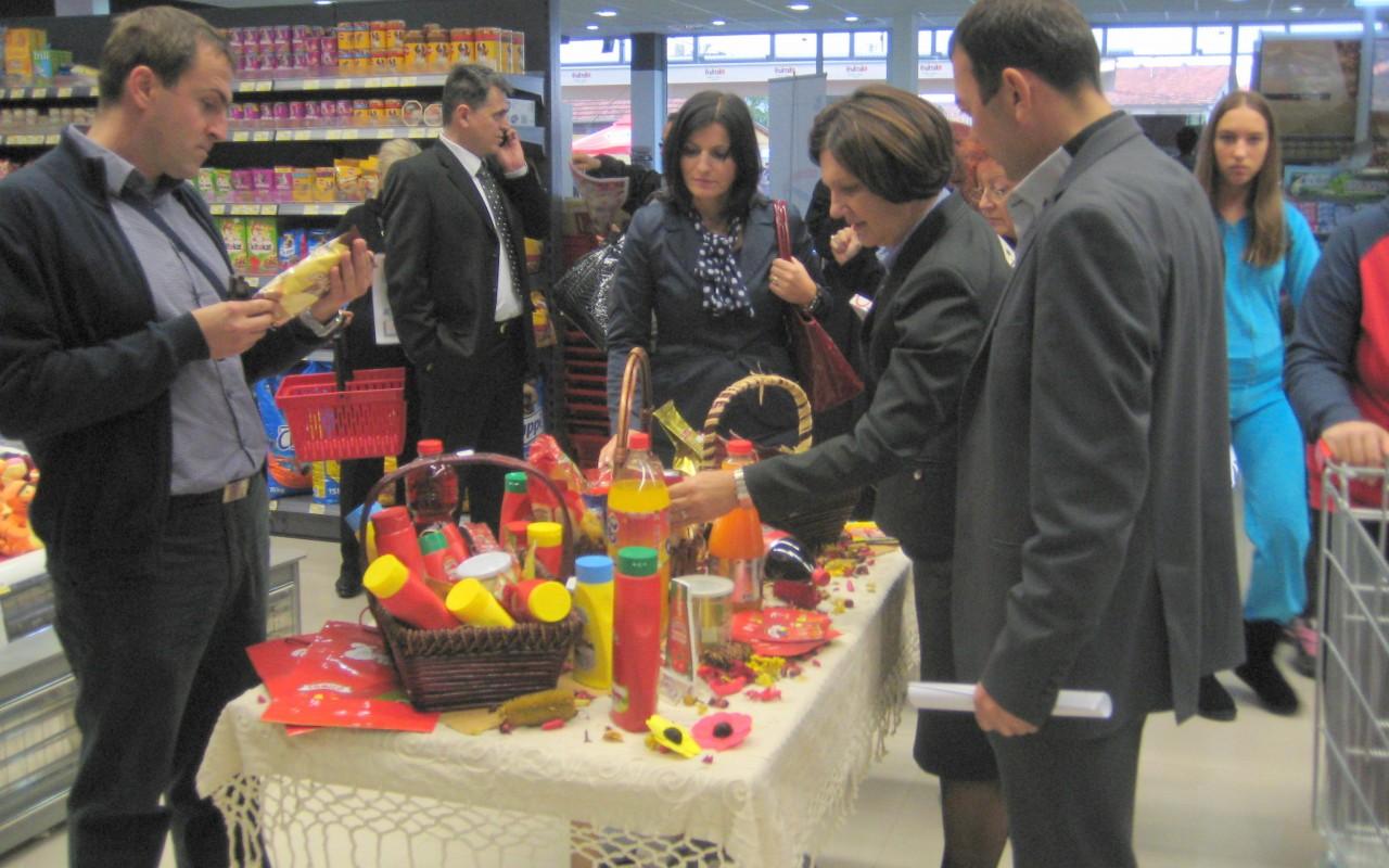 Promocija domaće proizvodnje u Hiper Kortu uBanjoj Luci