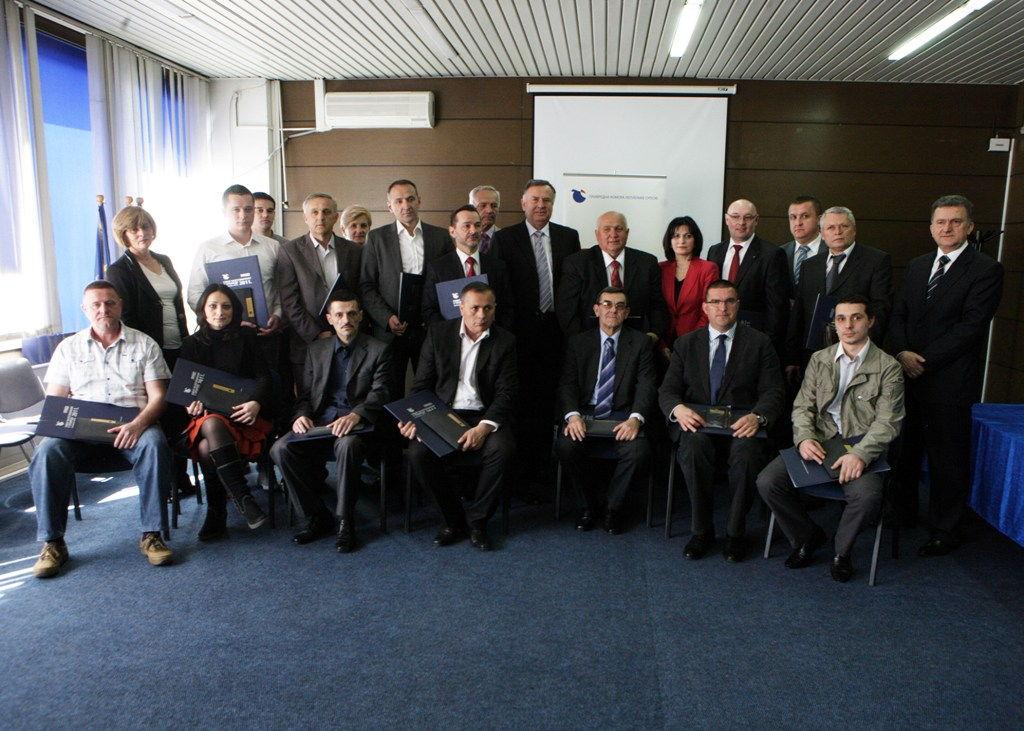 Dodjela nagrada za prepoznatljiv kvalitet i razvoj domaćeg proizvoda, 2012