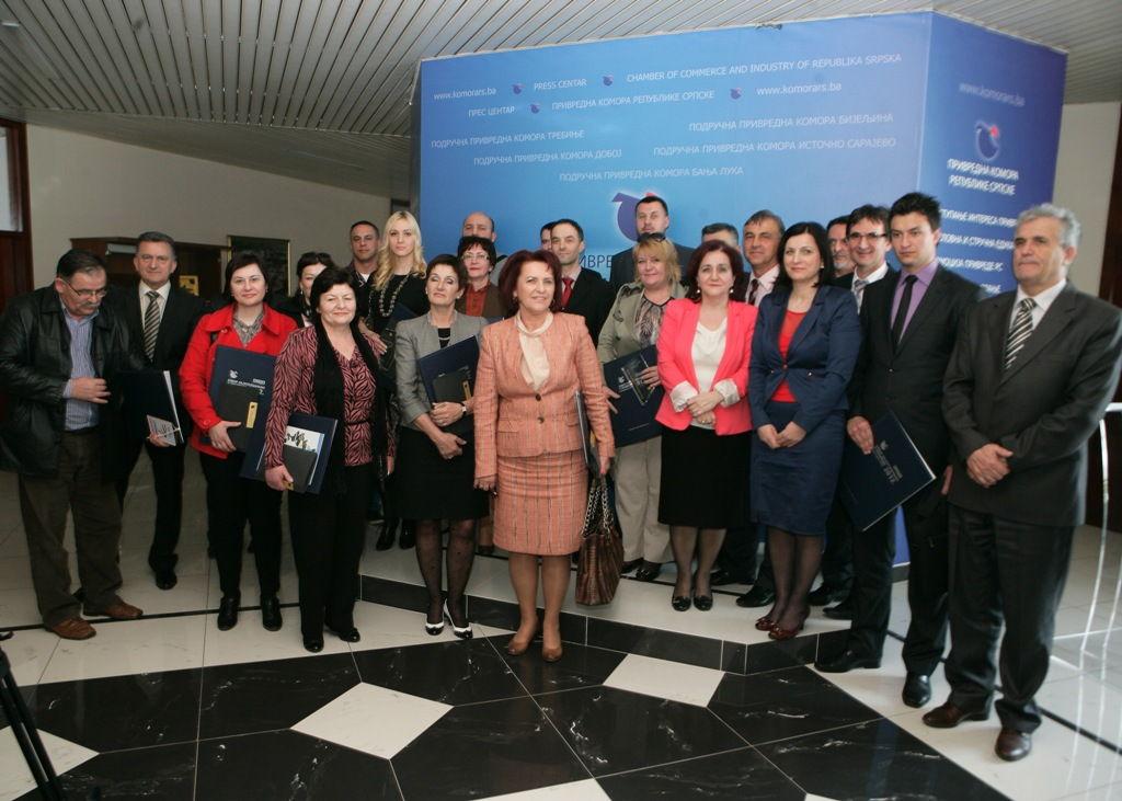Dodjela nagrada za prepoznatljiv kvalitet i razvoj domacih proizvoda u 2013