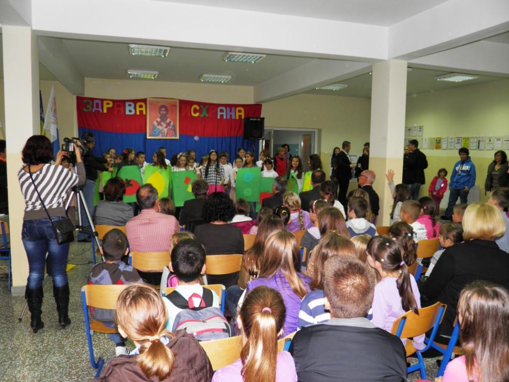 Obilježavanje Svjetskog Dana hrane u OŠ Sveti Sava u Banjoj Luci, 2012