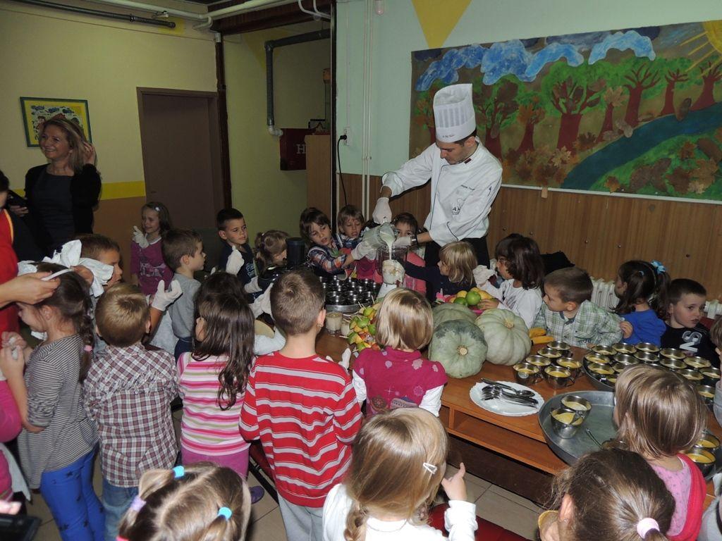 Obilježavanje Svjetskog dan hrane u vrtićima, 2013