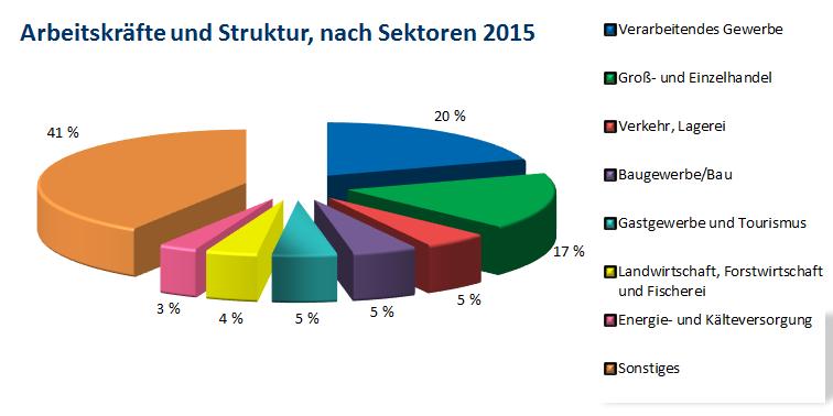 radna snaga i sektori 2015