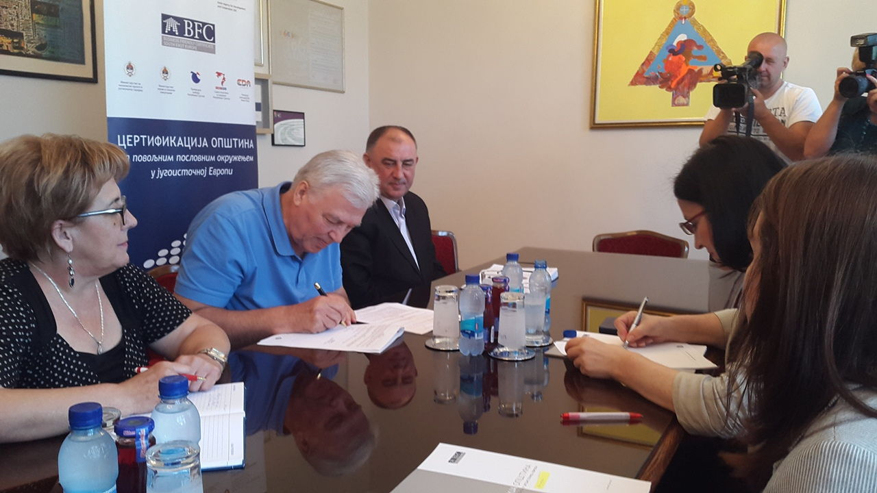 Potpisivanje ugovora_Grad Prijedor