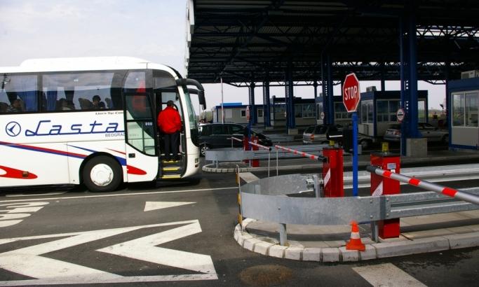 Lasta autobus granica