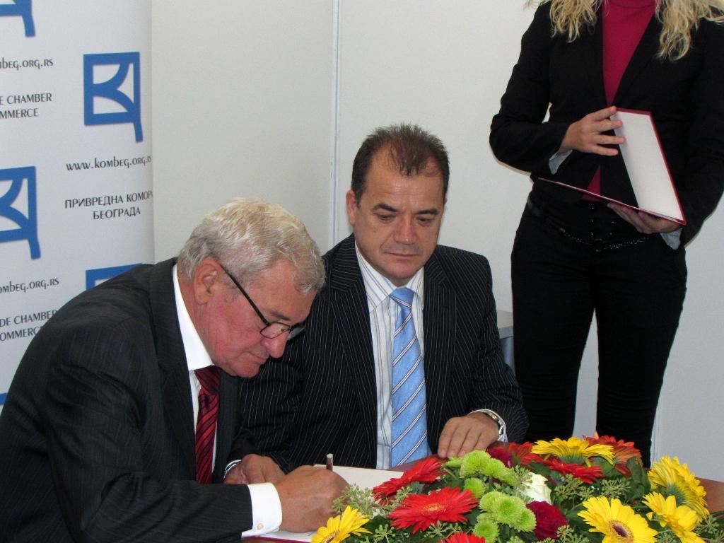 Porpisivanje Sporazuma Bijeljina - Beograd