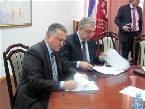 Potpisivanje protokola o saradnji komora i Univerziteta u IS