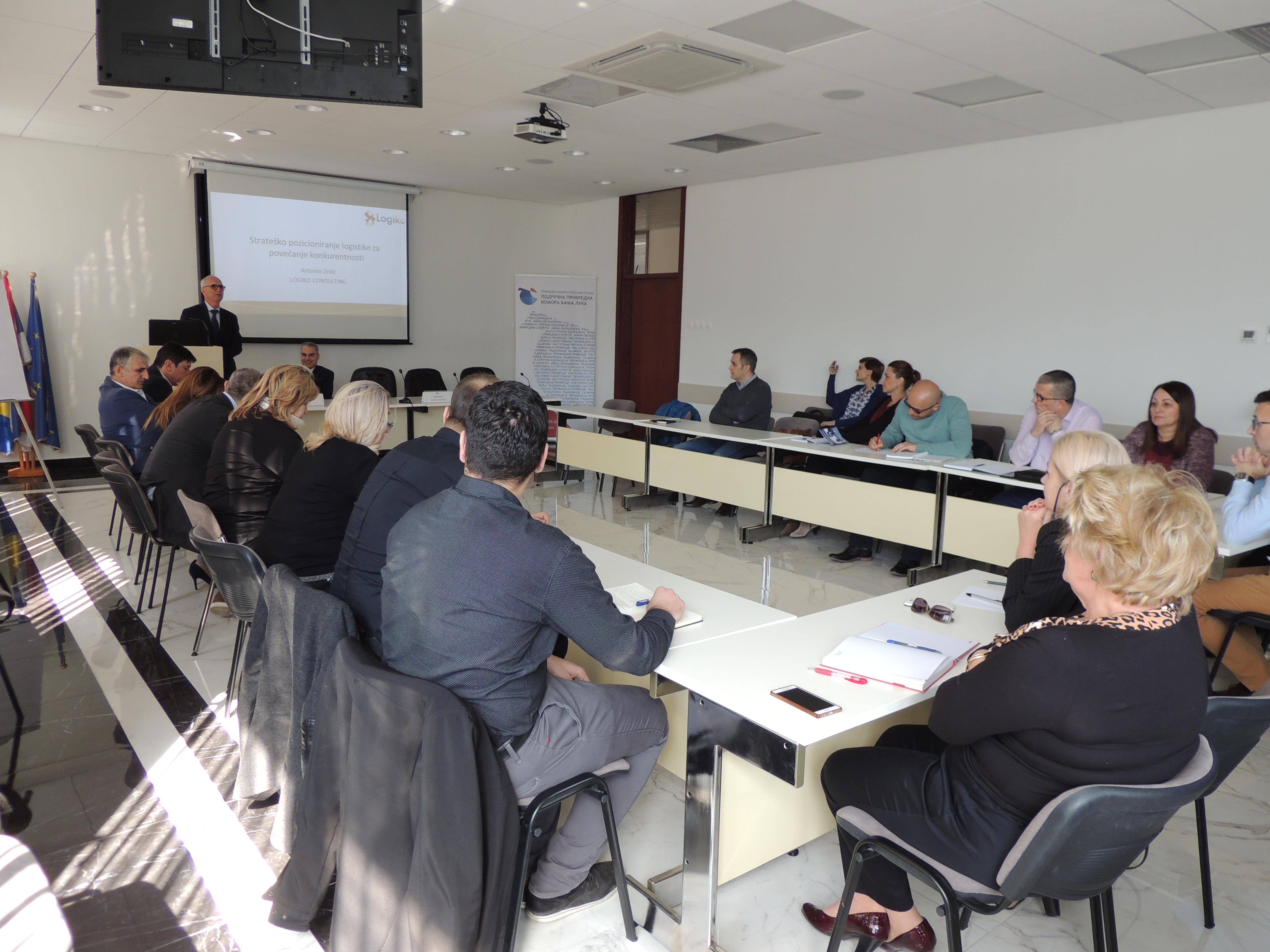 """Održan seminar """"Efikasno upravljanje logistikom u malim i"""